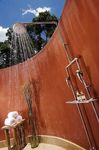 Mara Safari Club - outdoor shower