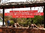 Chyulu Gate - Tsavo West Nationalpark Kenia